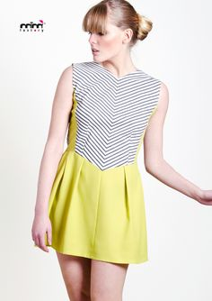 Stripes&Lime dress