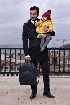 Daddy is the best! Petida design diaper backpack.. Handmade, genuine leather.. www.petida.com