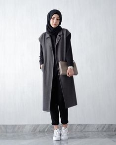 fashionable smart casual with hijab - - Image Search results