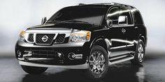 2012 Nissan Armada - Platinum  Edition in black