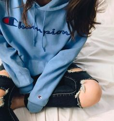 casual summer fashion you will definitely - Kindermode Winter Outfits, Summer Outfits, Casual Outfits, Hoodies For Teens, Guys Hoodies, Cute Sweatshirts, Champion Clothing, Teen Fashion, Fashion Outfits