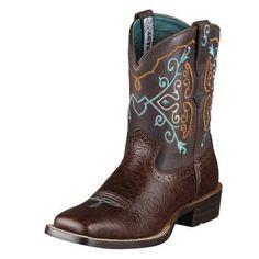 Ariat square toe boot!