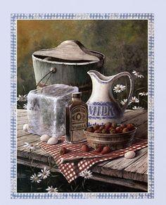Strawberry Ice Cream, Art Print by T.C. Chiu