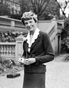 London Amelia Earhart