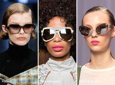 Spring/ Summer 2017 Eyewear Trends: Geometric Sunglasses