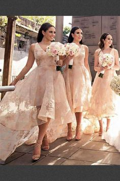 73f45ca8d7 30 Best High low bridesmaid dresses images
