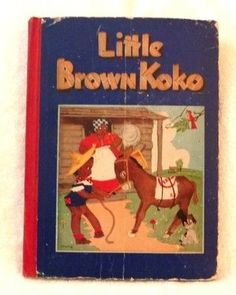 Vintage Black Americana Little Brown KoKo Book 1940 from buongiorno on Ruby Lane       $125