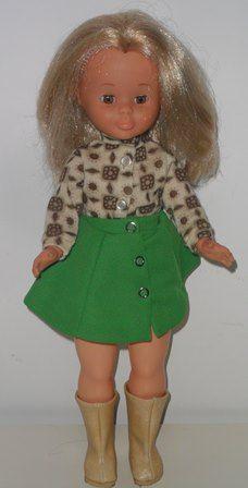 Vintage muñeca Nancy  Pecosa de la marca Famosa Española. De los años 80