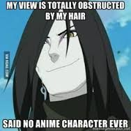 Image result for anime characters without bangs