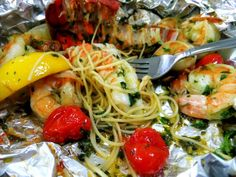 PROUD ITALIAN COOK: Grilled Shrimp and Lobster Gremolata
