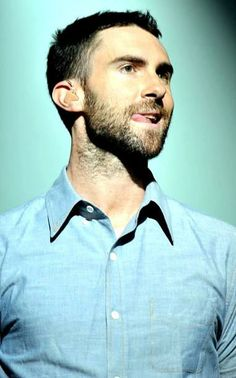 Adam Levine with some tongue action