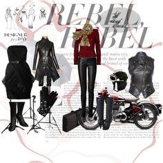 """Beautifull rebel"" by megola on Polyvore"