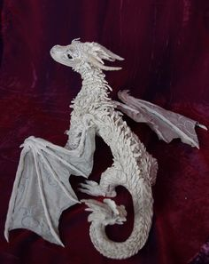 Ice dragon sculpture by SososAlderworlds on DeviantArt Ice Sculptures, Lion Sculpture, Ice Dragon, Cool Dragons, Children's Book Illustration, Book Illustrations, See Picture, Octopus, Statue