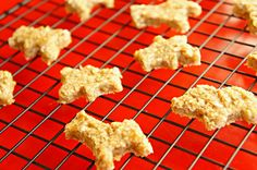 Easy to make Peanut butter Oatmeal Animal Cookies.
