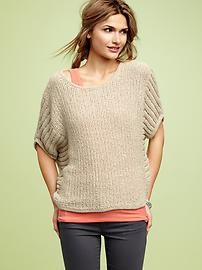 so cute, and no wool so it's good for those with more sensitive skin!  Now arriving in stores.  Look how pulled together it looks with a tank peeking out under it with legging jeans.