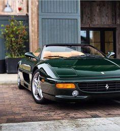 "Ferrari F355 - FERRARI ONLY ! (@ferrari.lovers) on Instagram: ""Green Spider ! @danielzizka"""