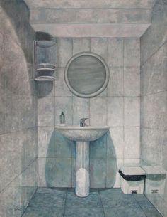 """""""No hay salida"""" oleo sobre lienzo . 65x50cms . On sale: 400 €"""