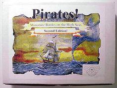 Pirates!  Miniature Battles on the High Seas