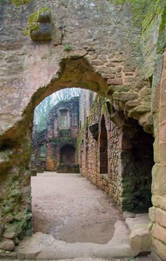 Ruins of Spofforth Castle, North Yorkshire, England