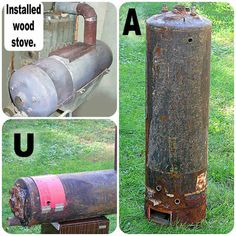 How To Convert a Hot Water Heater Into a Wood Stove - SHTF Preparedness
