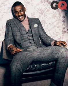 Idris Elba. Awesome suit. #suitup