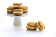 Low Carb Pumpkin Whoopie Pies.  9/29/15.  Dry.  Didn't have whipping cream, will get some.  It's good.  Made in doughnut pan.