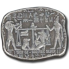 1 oz Monarch Egyptian Relic Silver Bar from JM Bullion™ Silver Bullion, Silver Bars, 1 Oz, Buy 1, Precious Metals, Hand Stamped, Egyptian, Coins, Personalized Items
