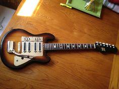 Kent Videocaster Vintage Japan Electric Guitar