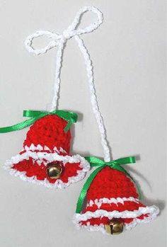 Maggie's Crochet · Free Chenille Bells Pattern, thanks so xox