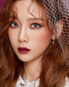 Pin by ? on taeyeon in 2020 My Beauty, Asian Beauty, Beauty Makeup, Hair Makeup, Hair Beauty, Beauty Style, Girls' Generation Taeyeon, Girls Generation, Snsd