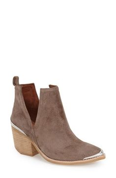 Free shipping and returns on Jeffrey Campbell 'Cromwell' Cutout Western Boot (Women) at Nordstrom.com. A daring take on the season's Western trend, this city-slick cowgirl boot features sultry side slits and is highlighted with filigree-motif metal rands at the pointed toe and block heel.