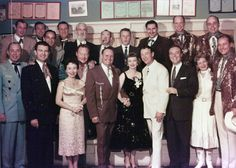 Dale Evans and the Sons of the Pioneers | Top Row) Sons of the Pioneers: Dale Warren, Tommy Doss, Shug ...