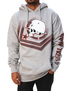 Metal Mulisha Men's Check Point Pullover Fleece Hoodie