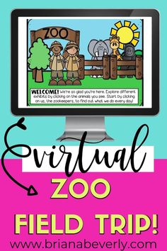 A virtual zoo field trip to be used in a science block or as a fun day in the elementary classroom. This virtual field trip is great for distance learning, homeschooling, or classroom teaching. Use parts of the virtual trip as a whole group lesson, and other parts as a classroom science project or early finisher work. Science Classroom, Teaching Science, Classroom Ideas, Classroom Management Techniques, Math Enrichment, Virtual Field Trips, Teaching Career, Persuasive Writing, Autumn Activities