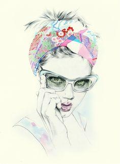 Natalia Sanabria Illustration Portfolio – Fashion Illustrator, contemporary youth fashion Illustrations