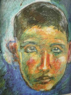 水木しげる14歳の肖像 Self-Portrait / Shigeru Mizuki / 1936.