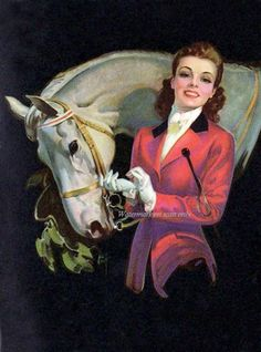 Equine Pin-up