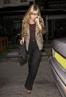 LOVE leopard print coats
