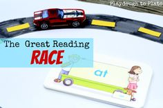 The Great Reading Race - Playdough to Plato