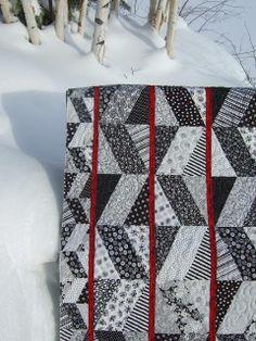 Tamarack Shack: X-Block Quilt
