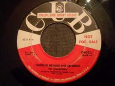 The Wanderers - Shadrack Meshack and Abednego - Doo Wop / Northern Soul / Popcorn Crossover.
