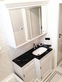 szafka łazienkowa klasyczna na wymiar, custom bathroom cabinets, bathroom vanity  - wykonanie|by Artystyczna Manufaktura