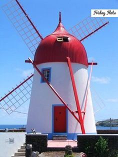 Windmill - Graciosa Island - Azores For rent on Friday Flats