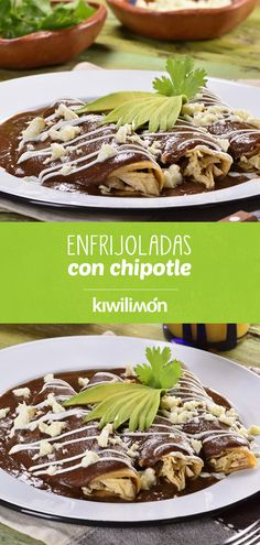 Real Mexican Food, Mexican Food Recipes, Vegan Recipes, Cooking Recipes, Ethnic Recipes, Enchiladas, Frijoles, Carnitas, Vegan Vegetarian
