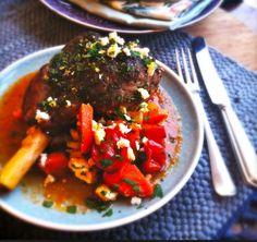 Oven baked lamb dish #recipe