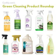 The Ultimate Green Cleaning Product Roundup! If baking soda and lemon juice aren't your thing, here is a roundup of green cleaning products with a description of why they are good for you and your home.