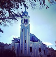 Our neighborhood church, The Blue Church #artnouveau #bratislava #slovakia