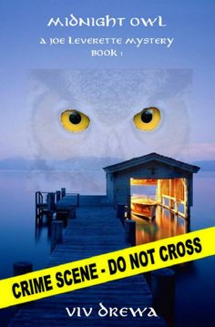 """Please vote for the book cover for """"Midnight Owl"""" (A Joe Leverette Mystery, Book 1) by Viv Drewa"""