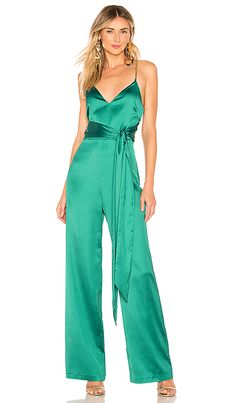 0ac32fa5bff Online shopping for Cut Out Spaghetti Strap Jumpsuit GREEN from a great  selection of women s fashion clothing   more at MakeMeChic.