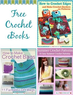 Free crochet eBooks  #crochet #free #patterns #ebook